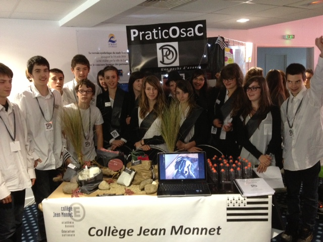 Coll ge jean monnet janz la mini entreprise praticosac for Pronote college jean moulin salon