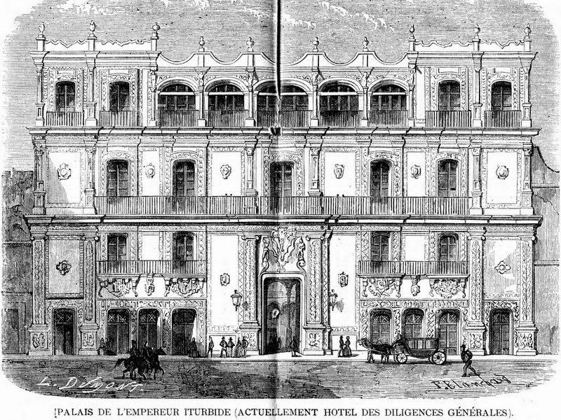 Resultado de imagen para hOTELES México siglo XIX