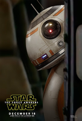 Star Wars: The Force Awakens Character Movie Posters – BB-8