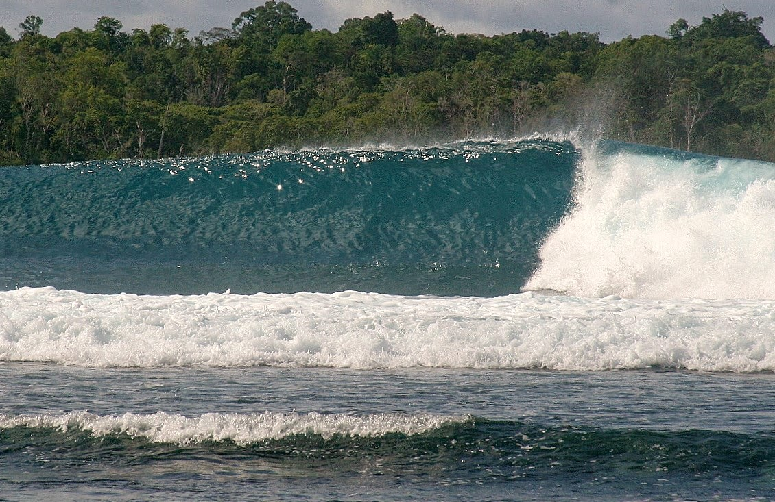 ... by....we had a great season of barrels in the Banyak Islands and met  some really cool guests too. Hope to see you at the Floating Surf House  next year!