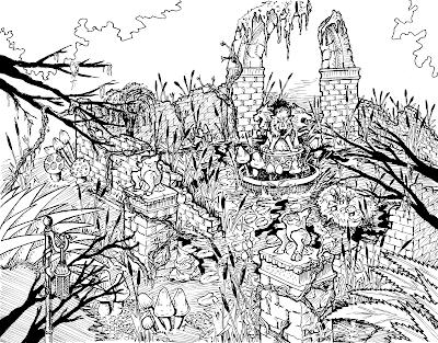 Swamp Ruins by Del Teigeler, Mavfire