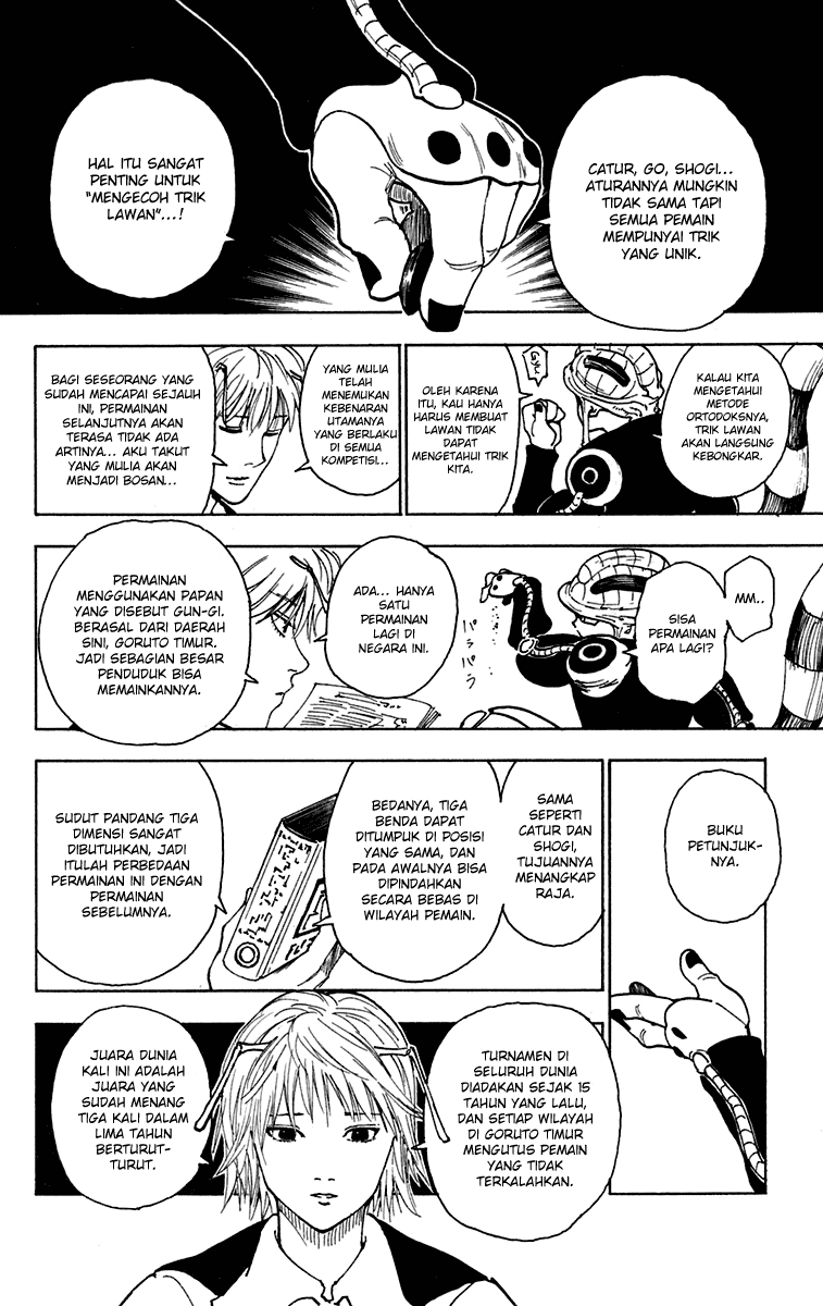 Komik manga HunterXHunter244 p02 shounen manga hunter x hunter