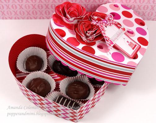 Doodlebug Design Inc Blog Valentine Treat Boxes