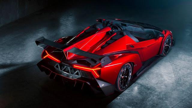 Lamborghini Veneno Rojo