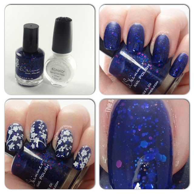 The Mercurial Magpie - KBShimmer Excuse Me I Blurpled - Swatches & Moyou London Stamping!