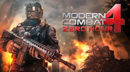 Jogo Para Celular Modern Combat 4: Zero Hour Android