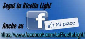 LA RICETTA LIGHT SU FB