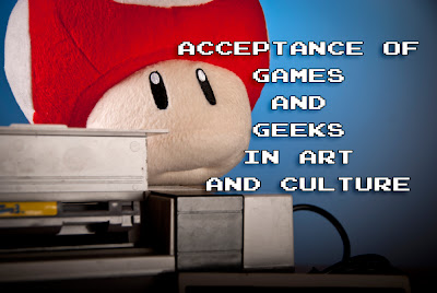 games and geeks in art and culture