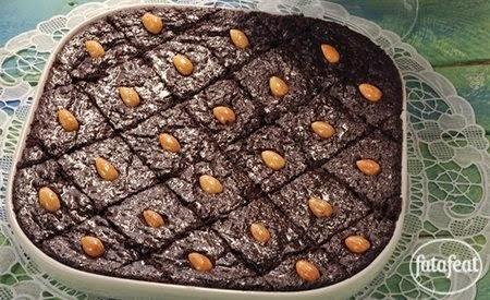 طريقة عمل بسبوسة بالشوكولاتة