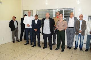 Autoridades civis, judiciárias e militares, representantes da tropa e de entidades participam da passagem de comando do 30º BPM