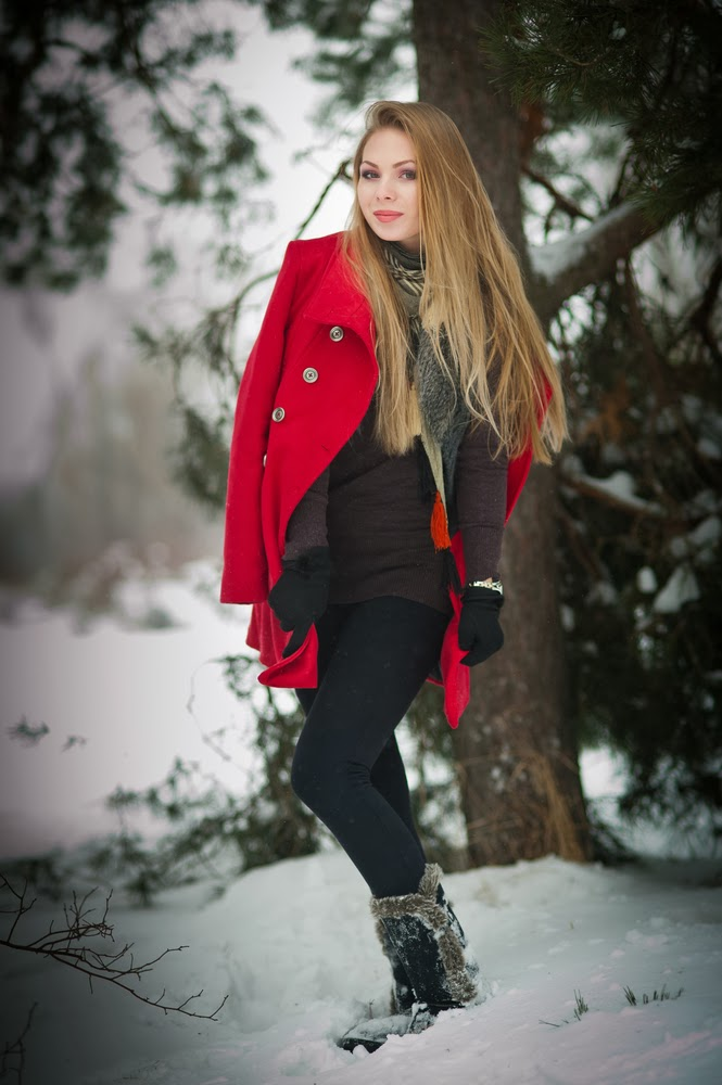 Clothing and Fashion Design: Women Winter Clothing Photos