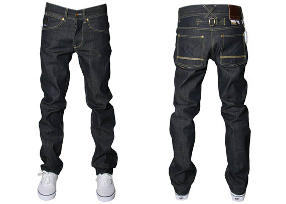 denim jeans with broken twill images