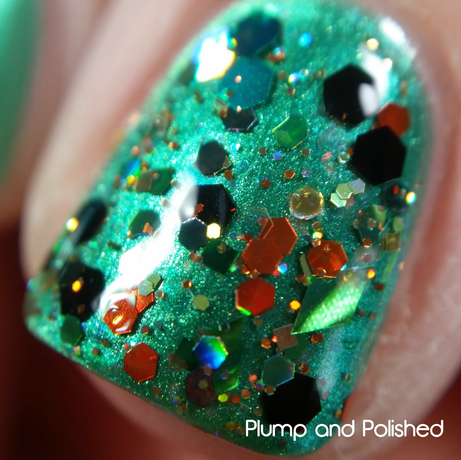Blue-Eyed Girl Lacquer - Siren's Lucky Shamrock