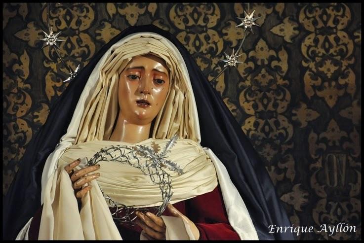 Virgen del Valle  hebrea Sevilla 2015