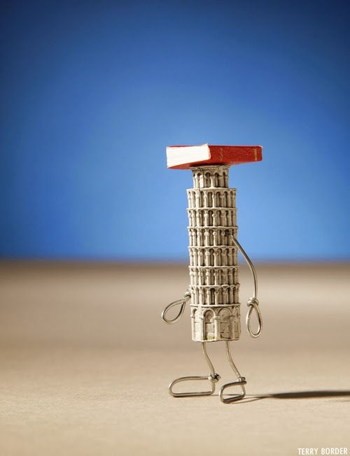 12-The-Posture-of-Pisa-Terry-Border-Photographer-Bent-Objects-Sculptures-www-designstack-co