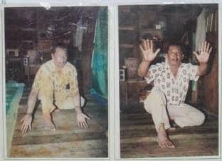 uluk salam atau salam pembuka  silek tuo dan sterlak di Bukittinggi oleh pak Ramli Sutan Mudo (Guru Besar Silek Tuo)