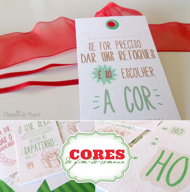 Etiquetas Personalizadas Presentes Natal