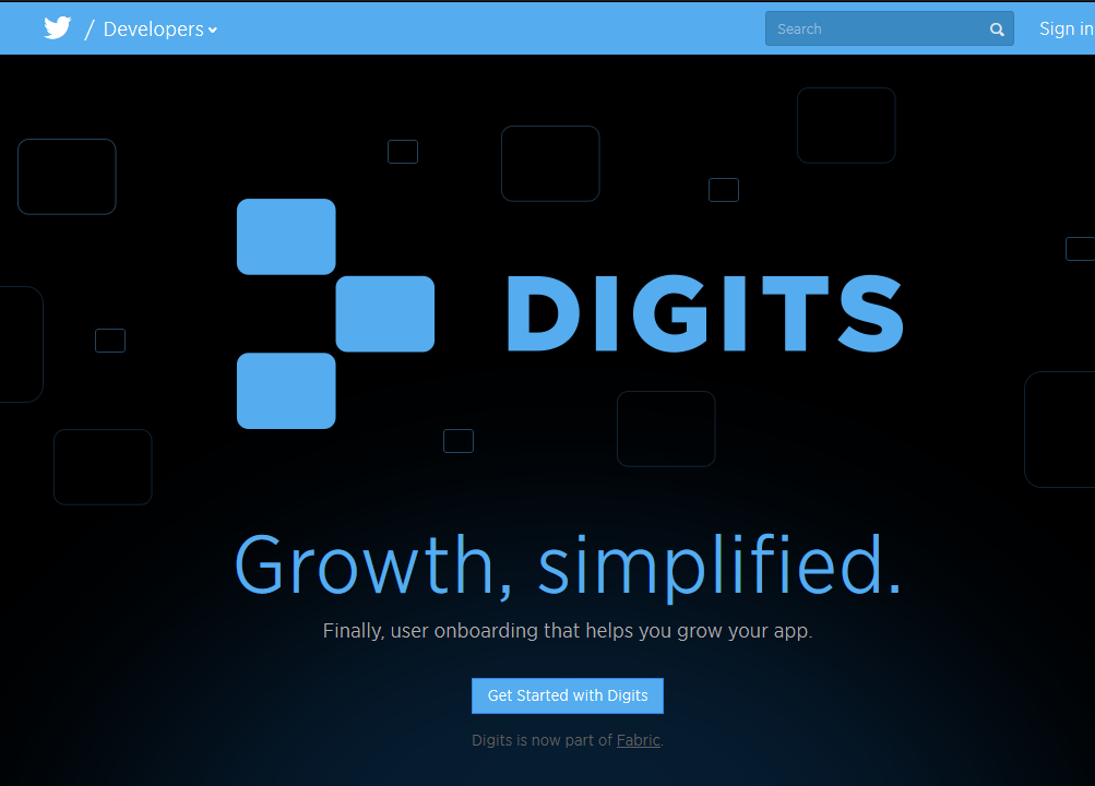 Digits, part of Twitter's new Fabric tool set