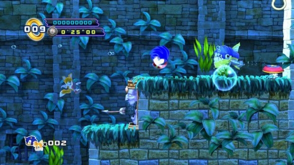Sonic 4 Episode 2 Underwater