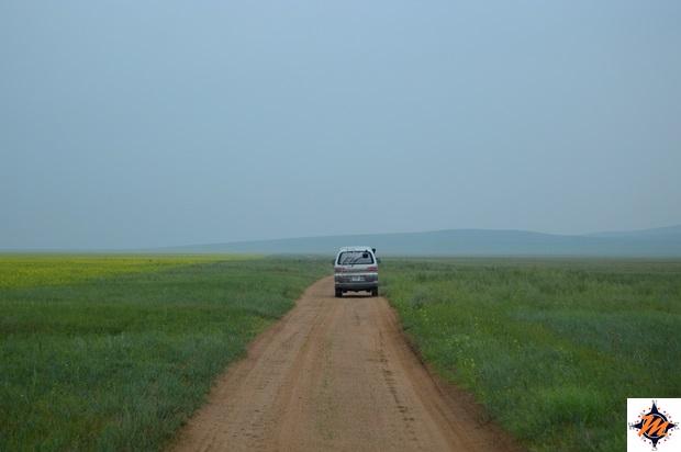 Raggiungendo l'Hustai National Park