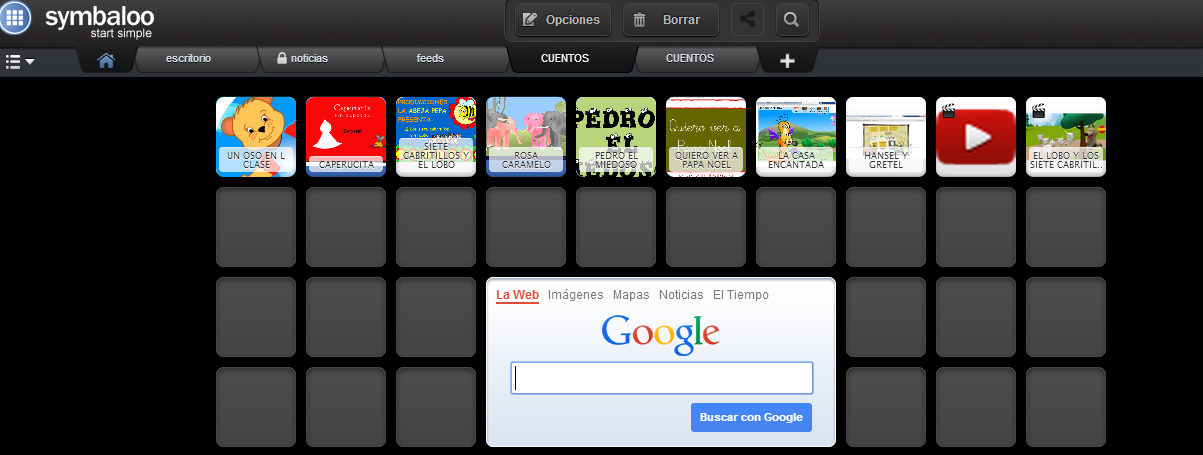 Symbaloo Cuentos