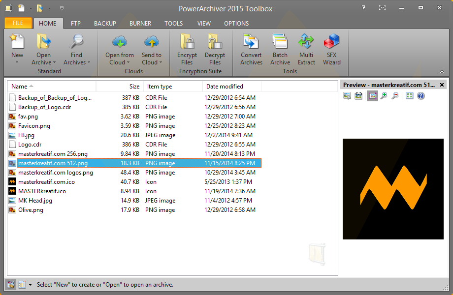 PowerArchiver 2015 Toolbox