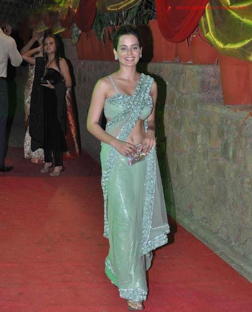 Actress Kangana Ranaut navel Show Photos/></a> <a href=