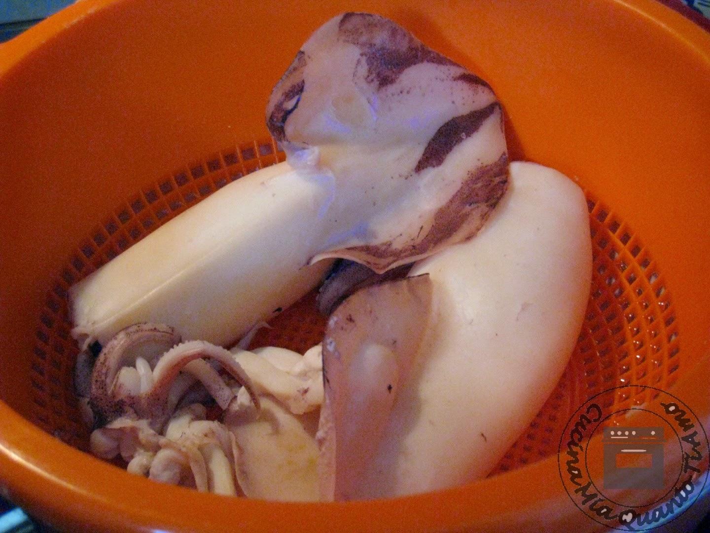 insalata calamari e patate
