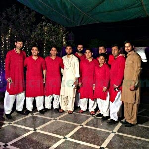 live cricket fun umar akmal wedding with noor eman pics