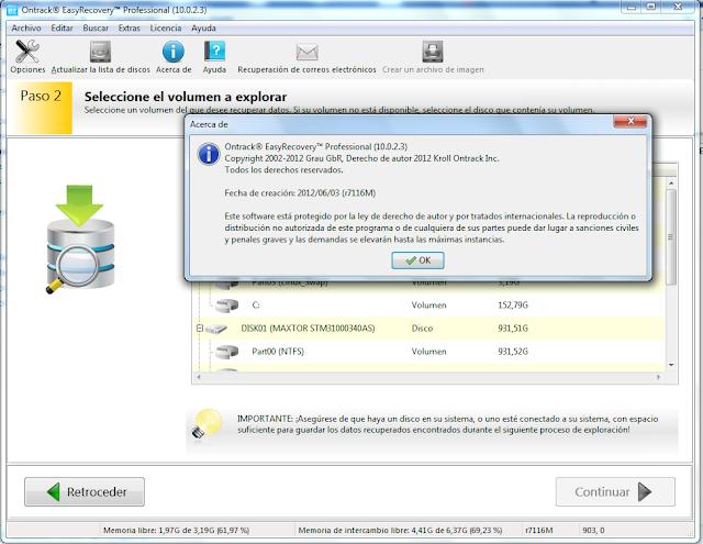 Resultado de imagen para Ontrack EasyRecovery Professional v10.0.2.3