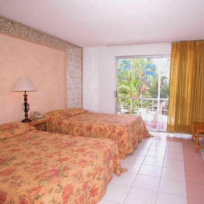 imagen de las habitaciones del Hotel El Tropicano en Acapulco