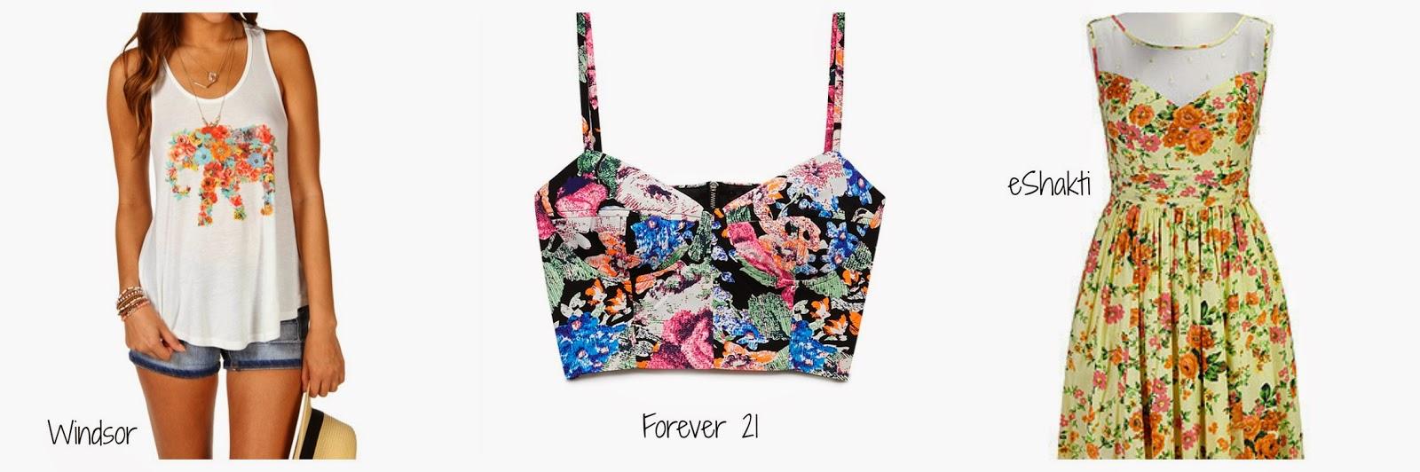 Floral Summer Trends