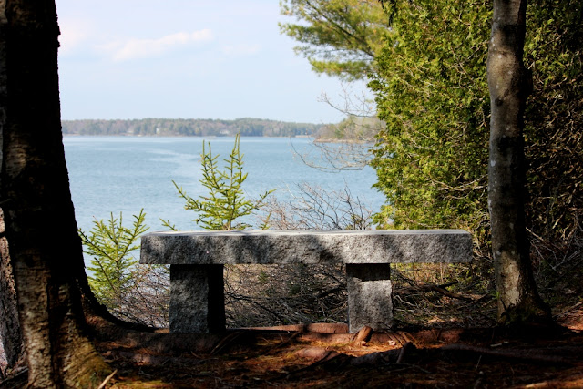 Lester's Bench Long Cove Orr's Island Maine