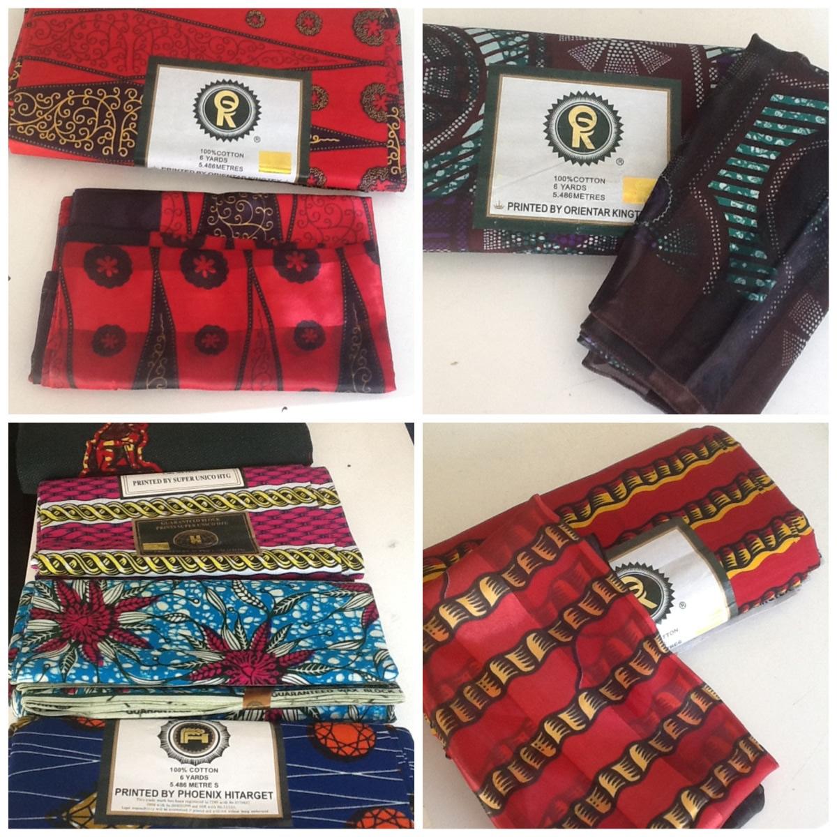Haya ukitaka vitenge vyenye scarf prints zake kutoka congo zipo mujini