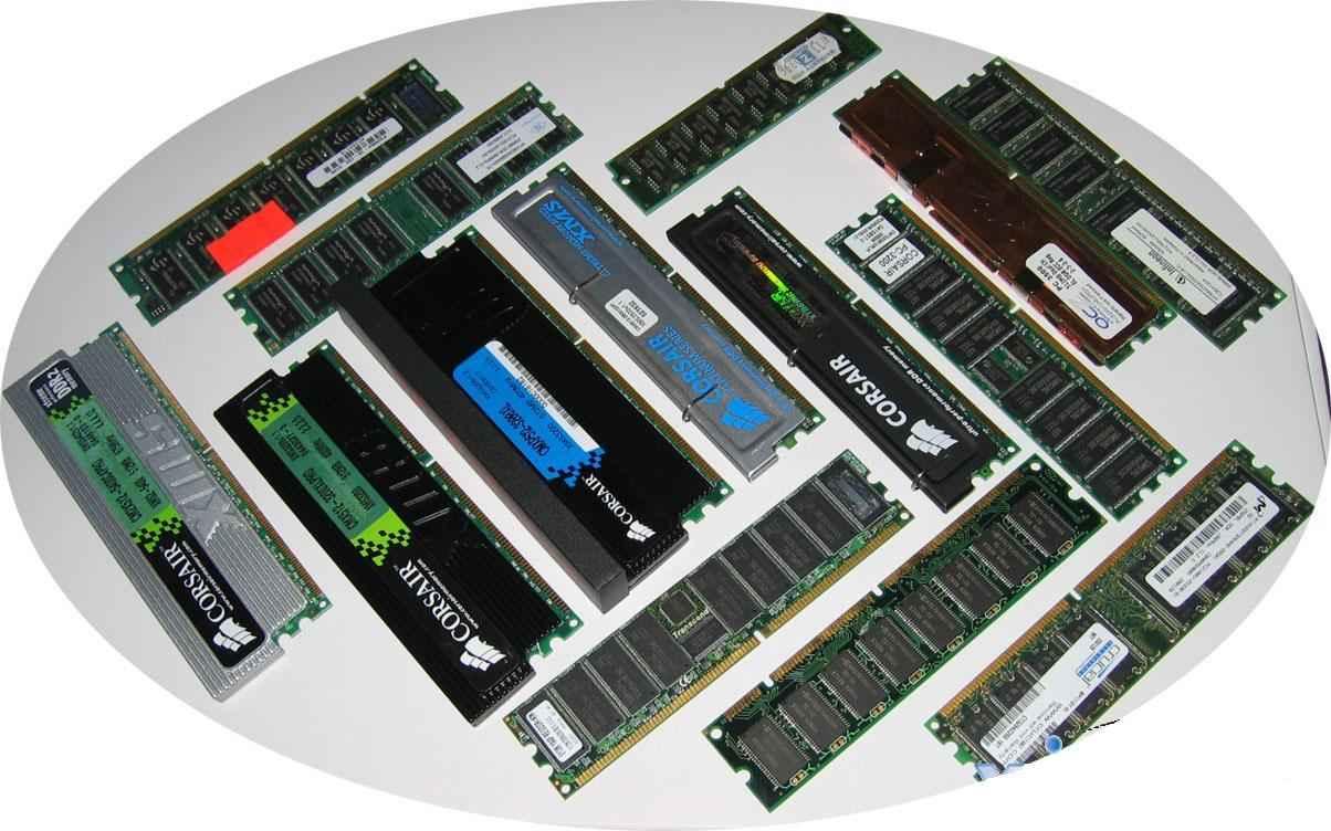 tipos de tarjetas de memoria para pc