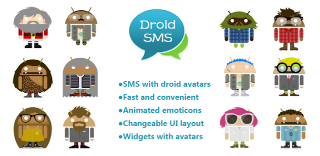 DroidSMS+5.0+APK DroidSMS 5.0   Apps SMS For Android