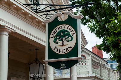 The Liberty Tree Tavern, a colonial era themed restaurant in Liberty Square, Magic Kingdom