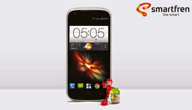 Cara Root Smartfren Andromax V - Android Interlude