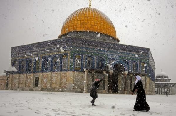 ... : ガザに大雨 エジプトに雪
