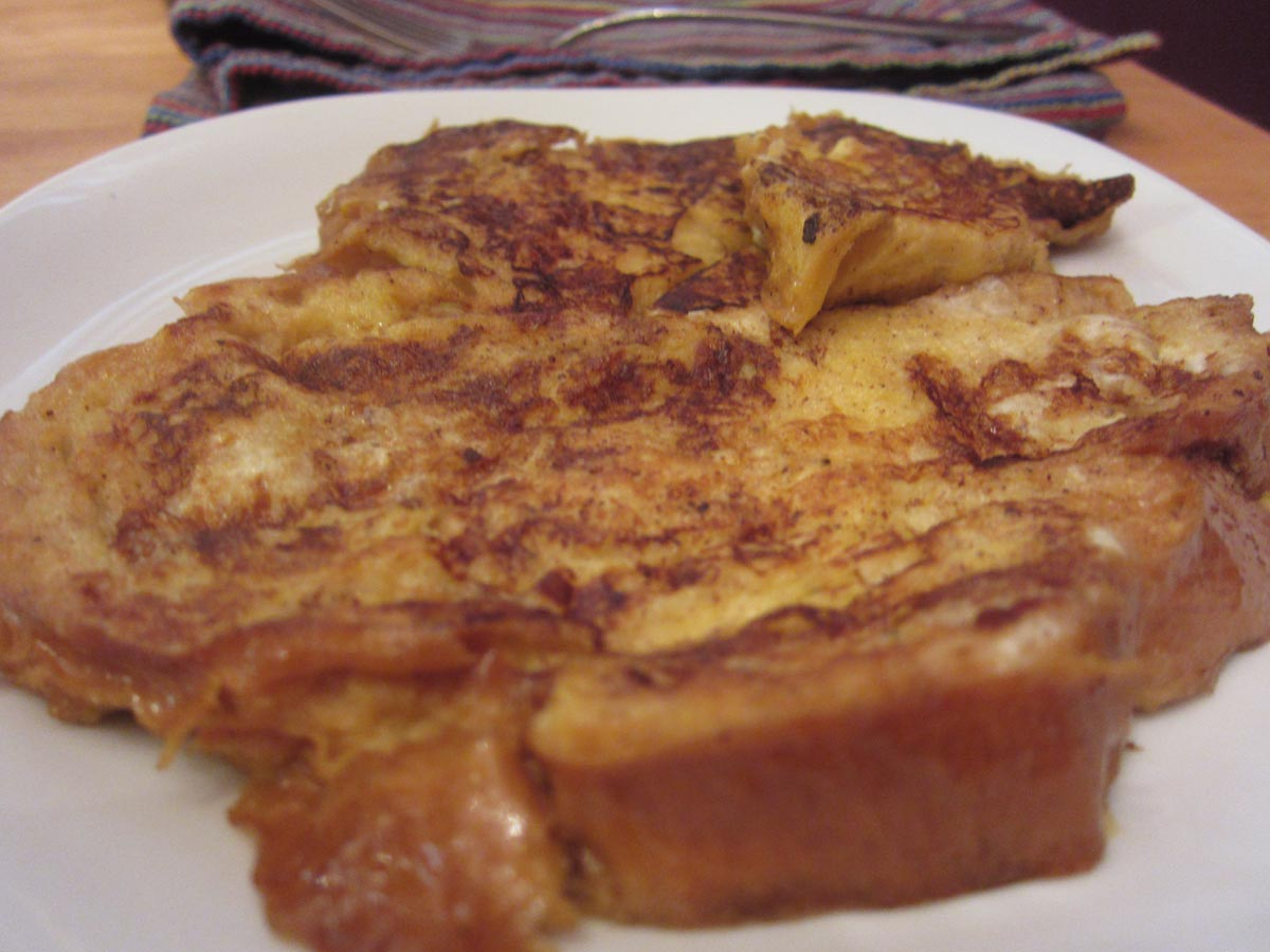 Saturday's Mouse: Challah French Toast