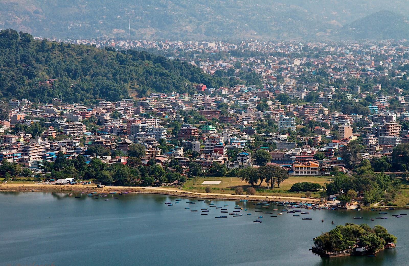 Pokhara Nepal  city images : ... to Pokhara city, Pokhara valley, Nepal नेपाल , Asia