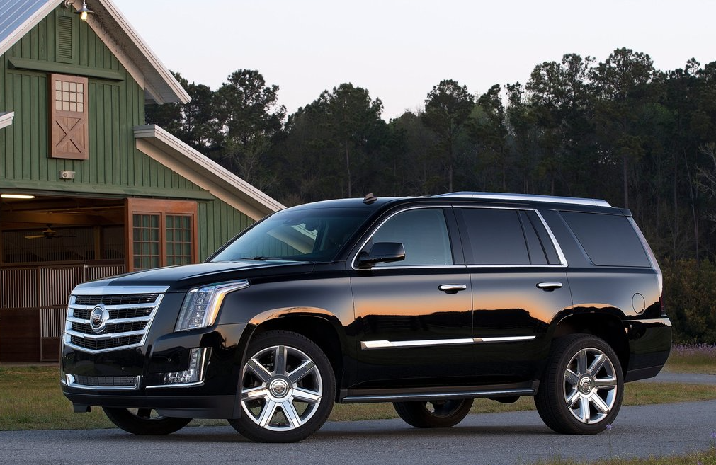 2014 Cadillac Escalade black
