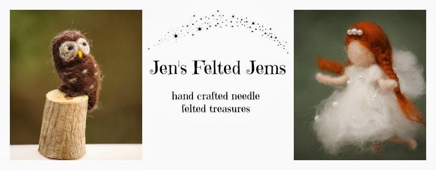 Jen's Felted Jems