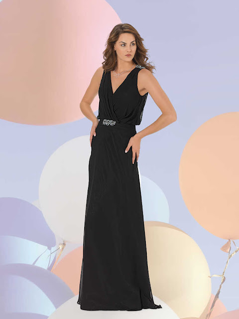 askılı bol kesim abiye modeli siyah uzun