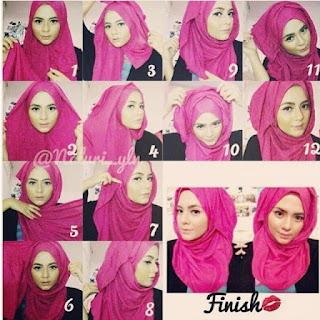 Tutorial Hijab Untuk Kuliah Terbaru