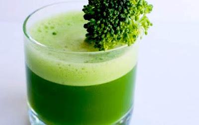Celery juice with broccoli