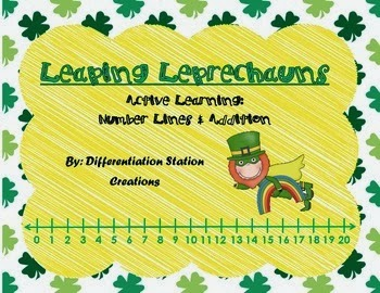 http://www.teacherspayteachers.com/Product/FREE-Leaping-Leprechauns-Addition-Number-Line-Active-Learning-1152031