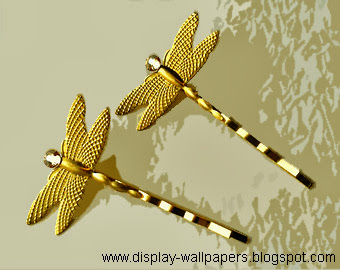 Gold Hair Clips Designs