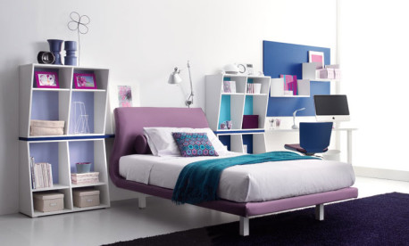 Kamar Tidur Warna Ungu Ciptakan Kenyamanan Tidur Anda