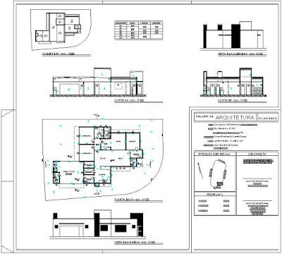 Versão definitiva do projeto desenhada em CAD